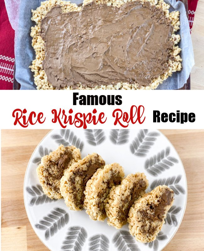 Rice Krispie Roll Pinterest
