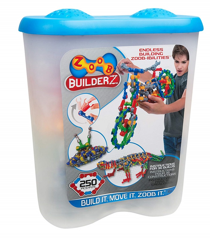 Zoob Builders 250-Pc. Set $32.96 (Reg. $63!)