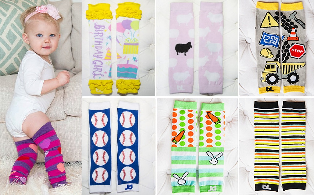 Cute Baby Leggings – 5 Pair for ONLY $15 Shipped ($3 Each!)