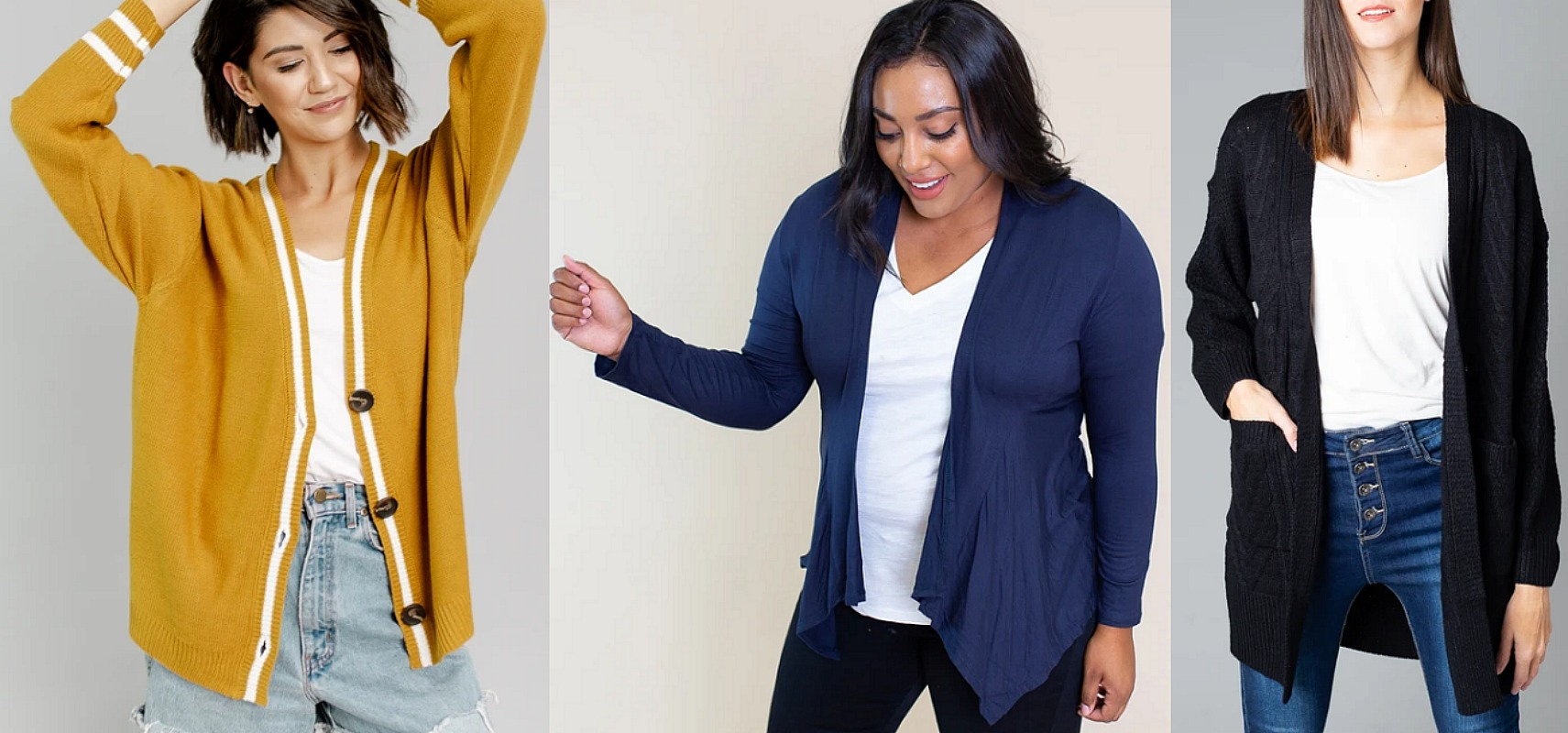 Cardigans as Low as $14.95 + FREE  Shipping – Limited Time!