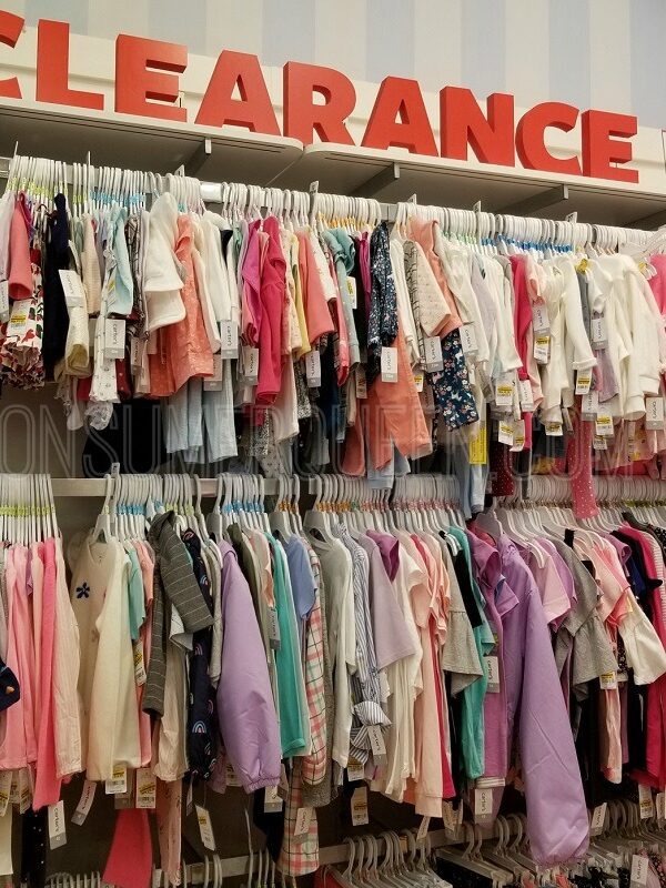 clearance BOGO free at carters