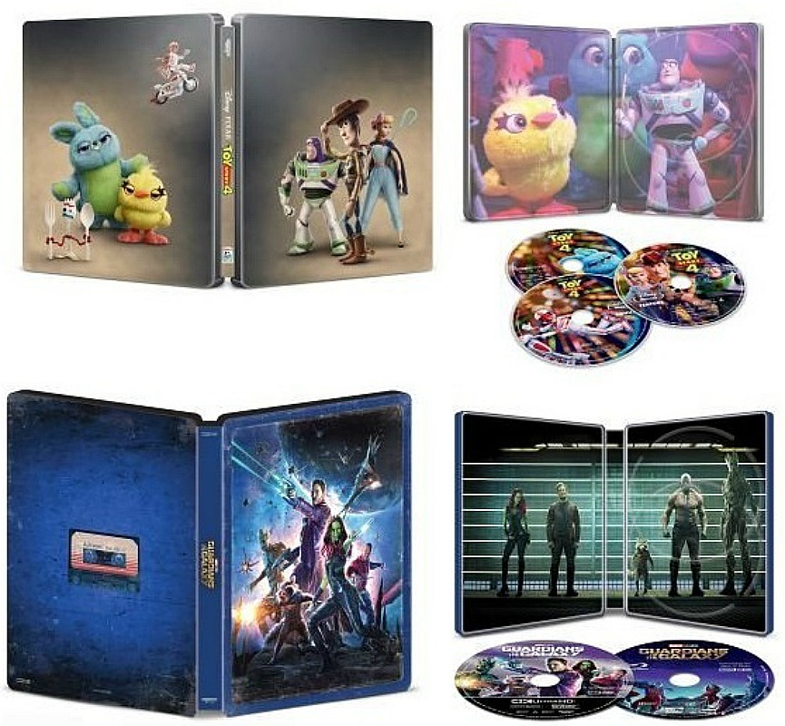 Disney & Marvel SteelBooks as Low as $4.99 (Reg. $35) – Today Only! *EXPIRED*