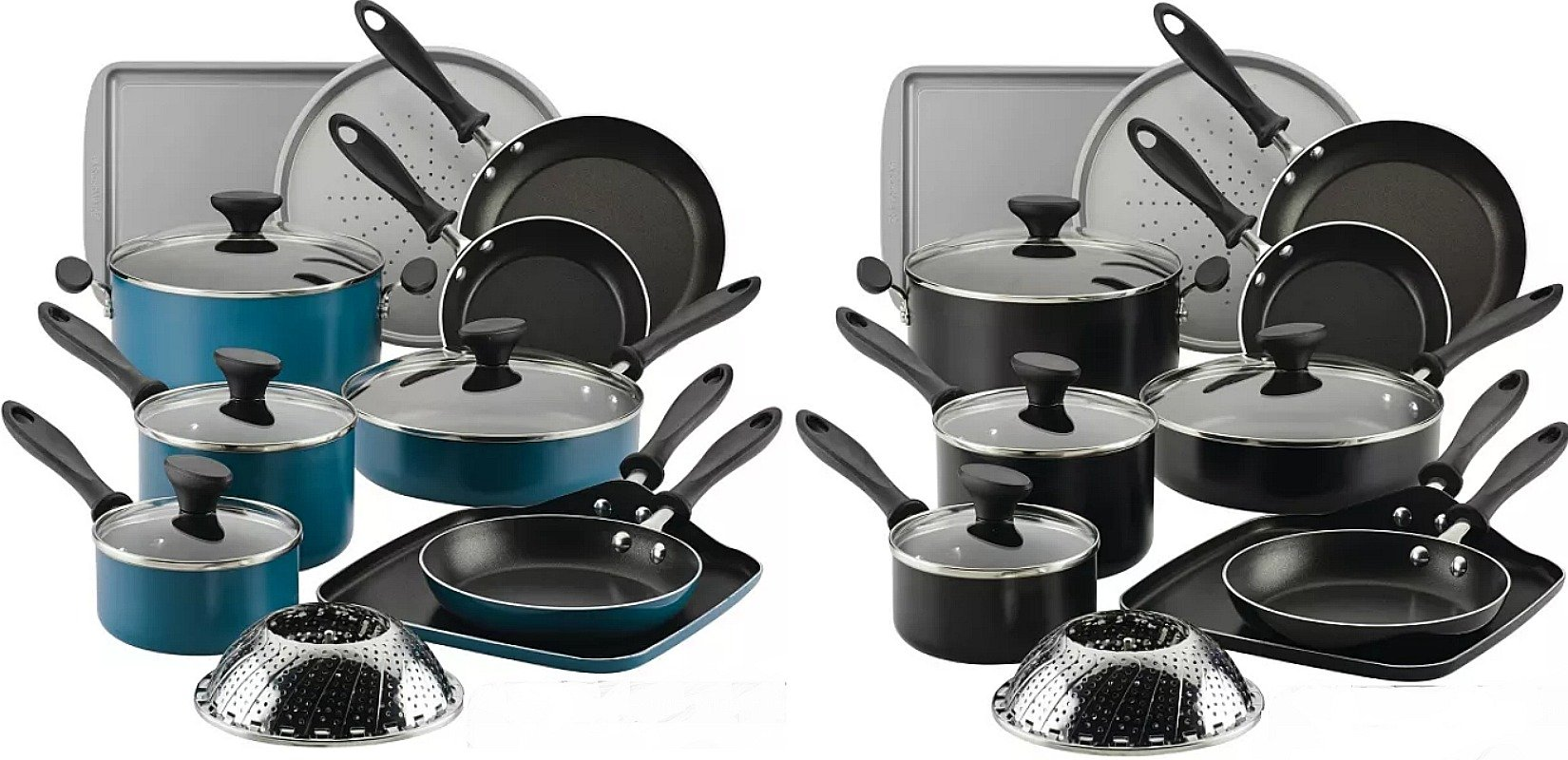 Farberware 21 Piece Nonstick Cookware ONLY $49.99 – Ships FREE (Reg $110) *EXPIRED*