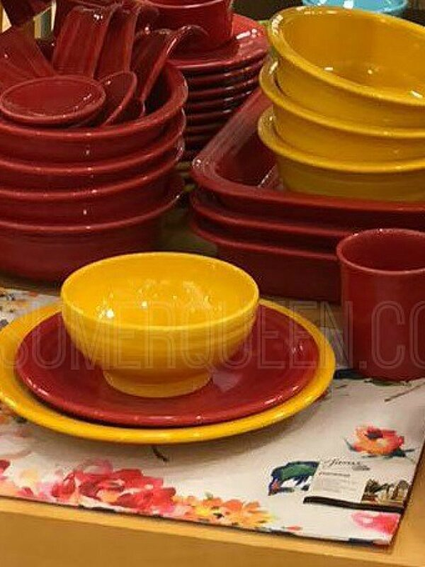 fiestaware 4 piece settings
