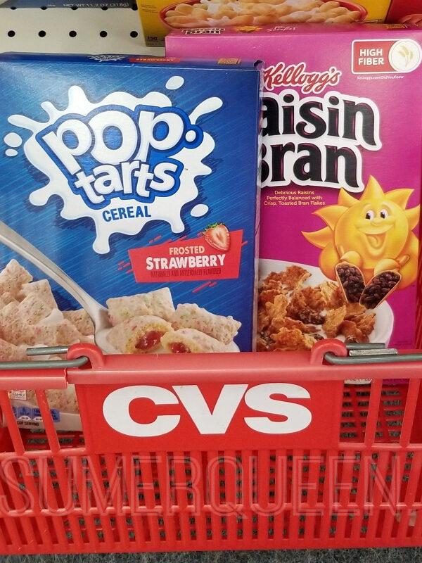Kellogg's Cereal as Low as $1.29 a Box at CVS!