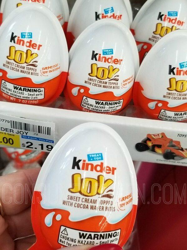 kinder joy candy