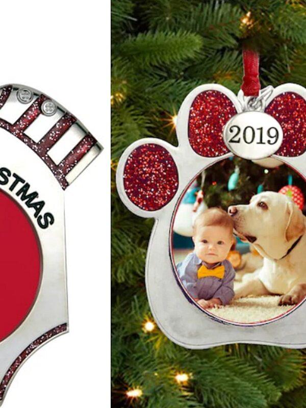 photo ornaments at michaels