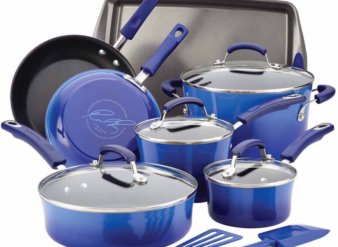 Rachael Ray Classic Brights Cookware Set $43.99 After Rebate + Free Shipping (Reg. $340!) *EXPIRED*