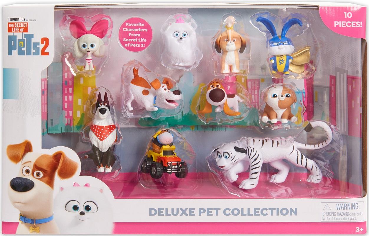secret life of pets 2 collectible set