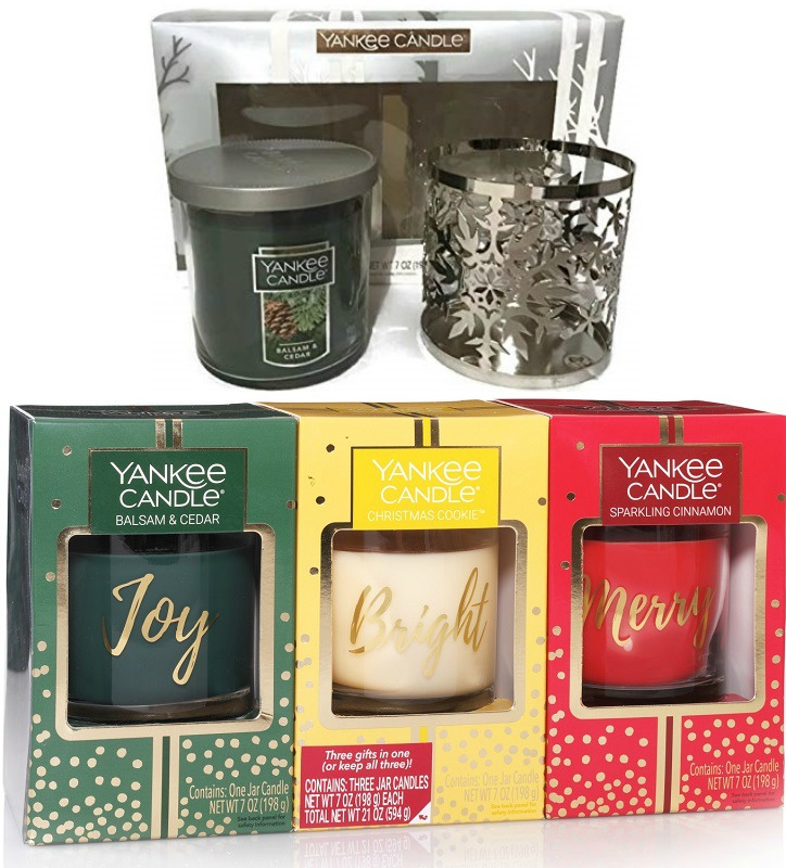 Yankee Candle Gift Sets as Low as $14.98 at Walmart + Free Store Pickup!