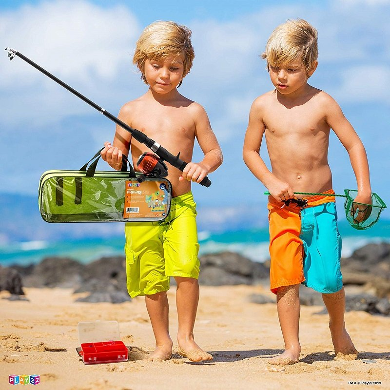 40 Piece Kids Fishing Gear Set ONLY $13.99 on Amazon (Reg. $29) *EXPIRED*