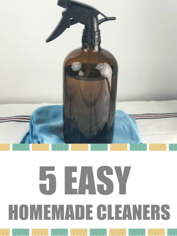5 EASY HOMEMADE CLEANERS