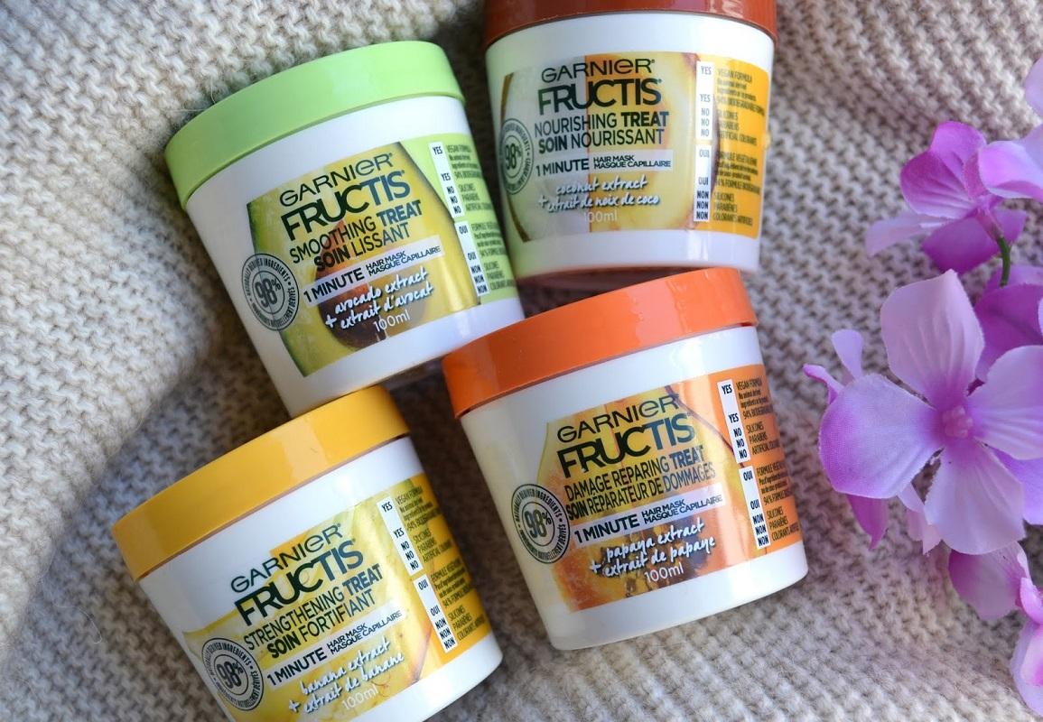 Garnier Frutis treats hair mask sample