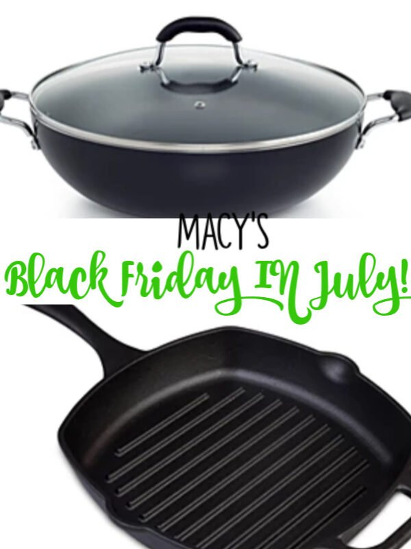 Macy's Black Friday in July!
