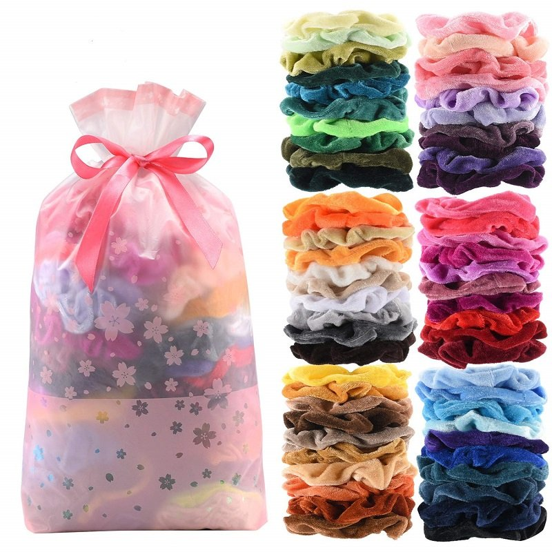 Amazon: Hair Scrunchies 60 ct. Just $6.55 (Reg. $9.99 and Up)