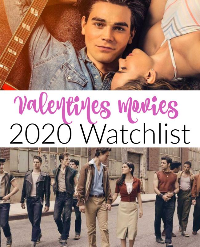 Valentines Movie  Watch List
