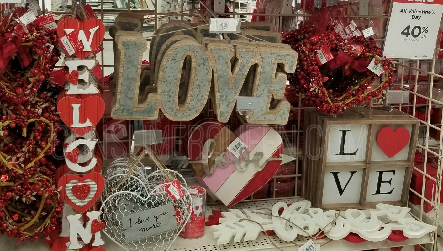 ALL Valentine Items 40% Off + Add'l 20% at Michael's – as Low as 40¢ *EXPIRED*