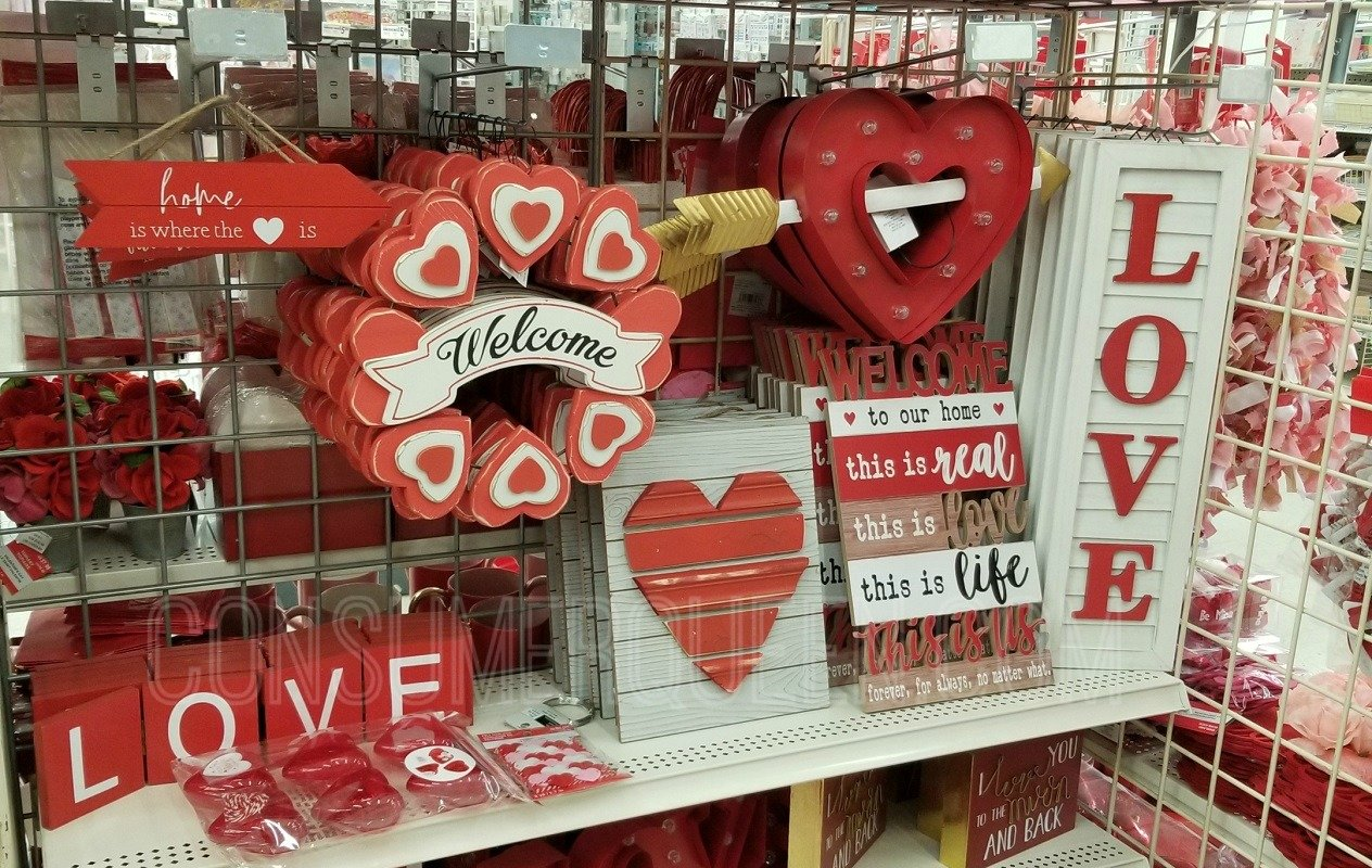 all valentine items 40% off at michaels