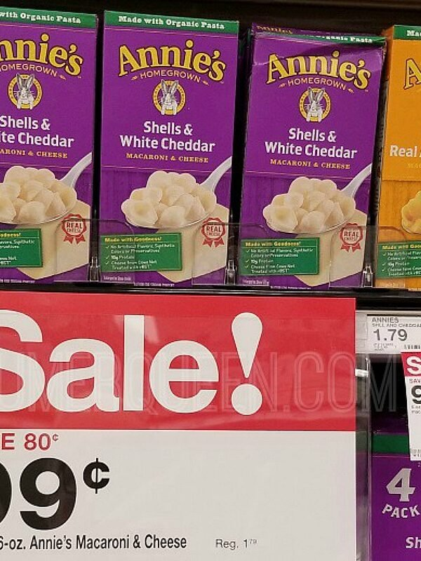 Annie's Organic Mac & Cheese ONLY 66¢ a Box at Target