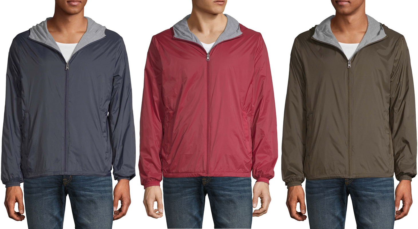 arizona mens reversible lightweight jackets