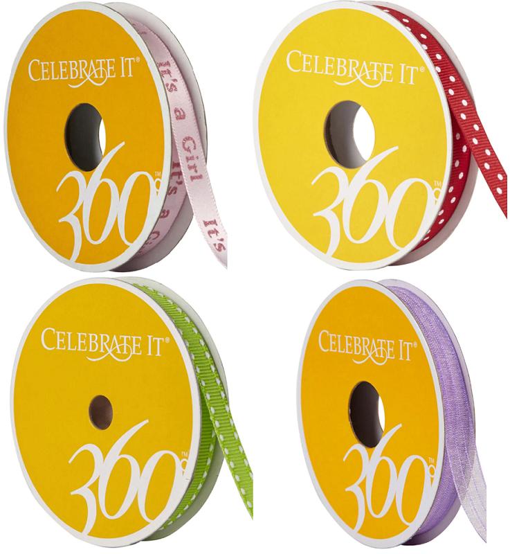 celebrate it craft ribbon