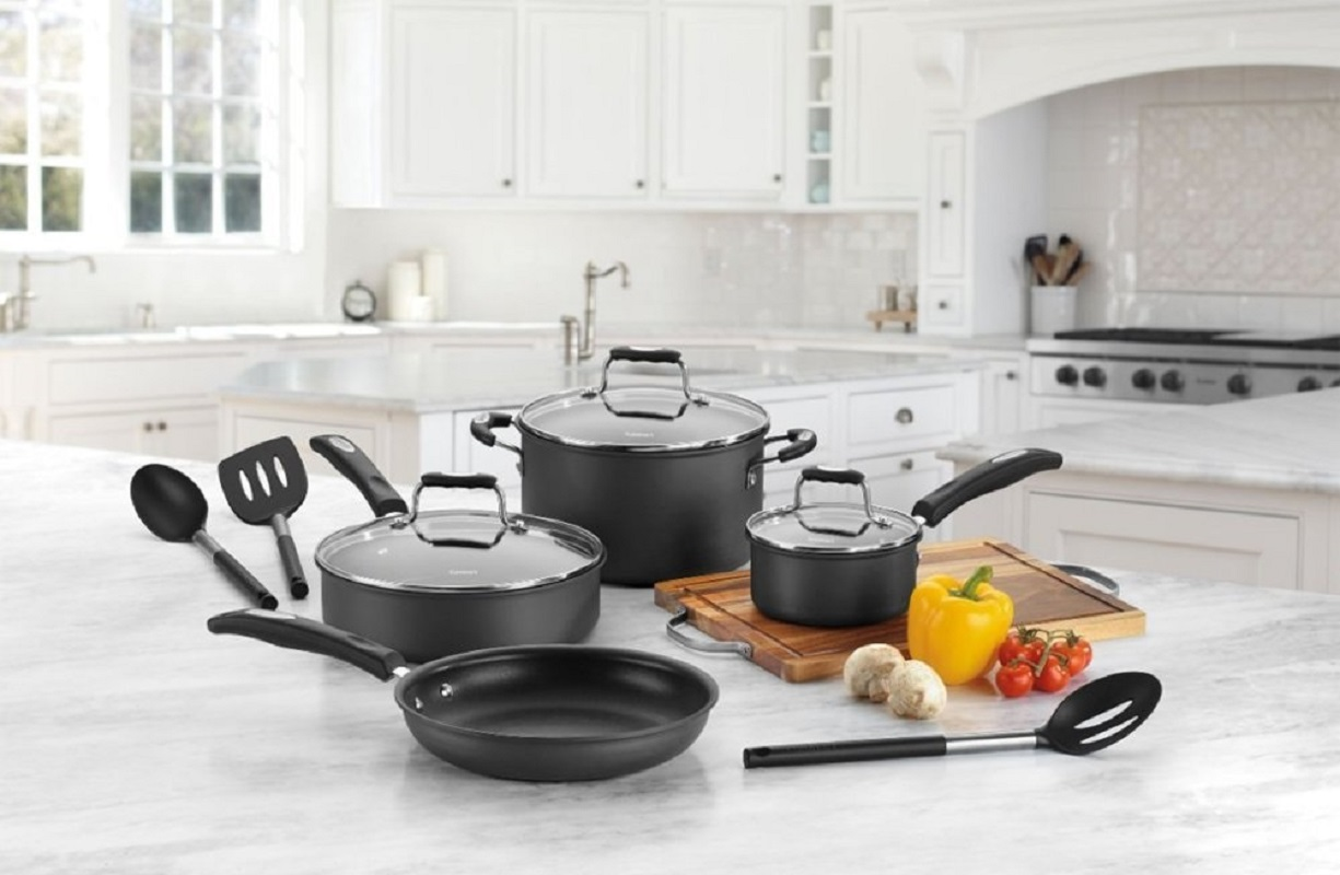 Cookware Set (10-Piece) by Cuisinart $79.99 at Best Buy – Free Shipping!
