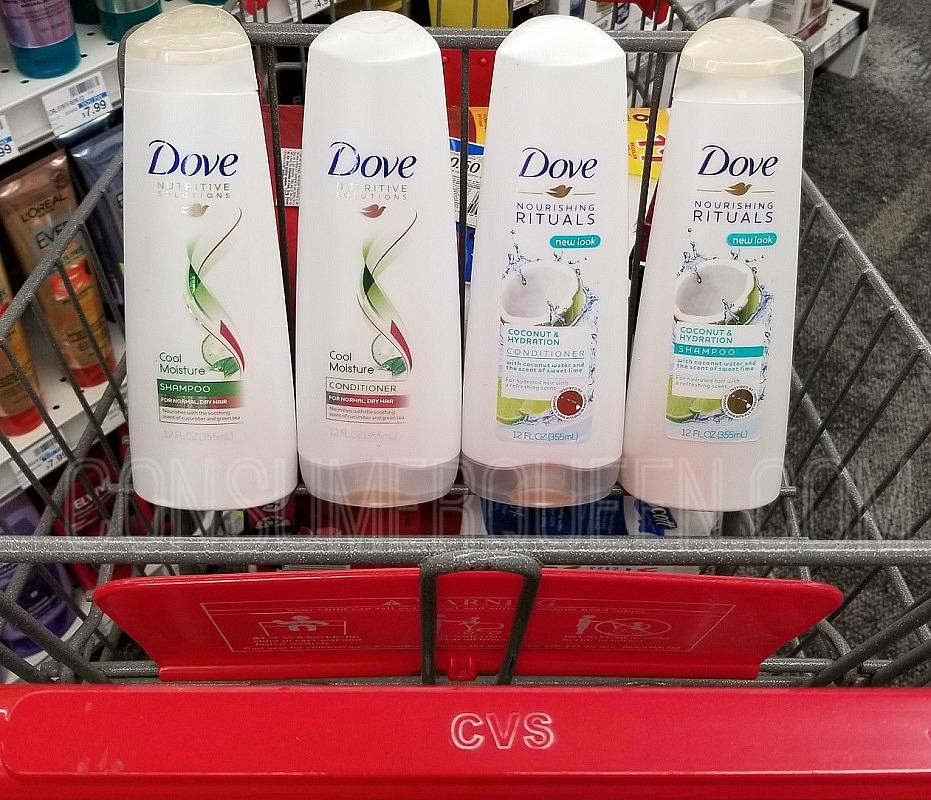 dove hair care at cvs