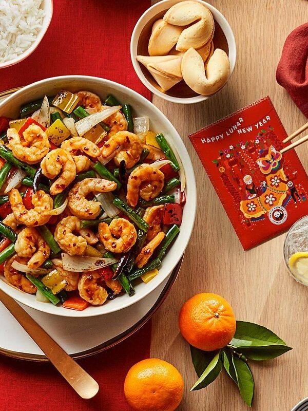 free shrimp entree at panda express
