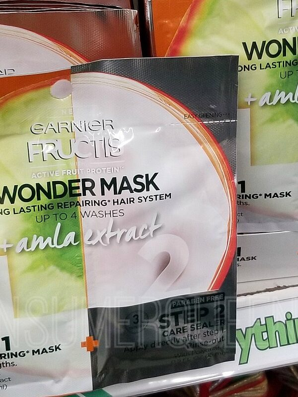 garnier fructis hair mask at dollar tree
