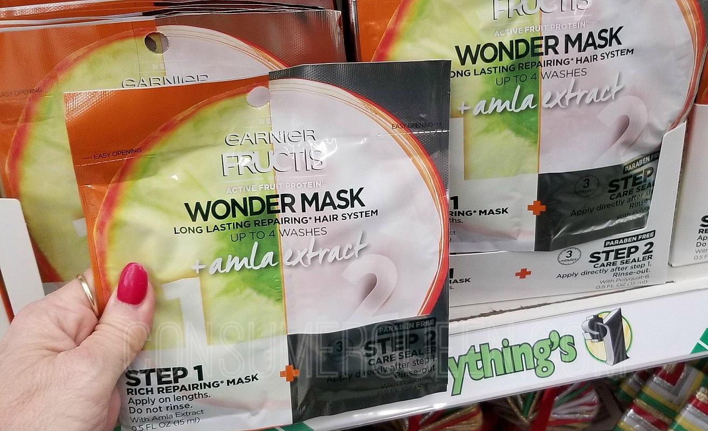 Garnier Fructis Hair Masks at Dollar Tree – Reg. Over $3 at Other Stores!