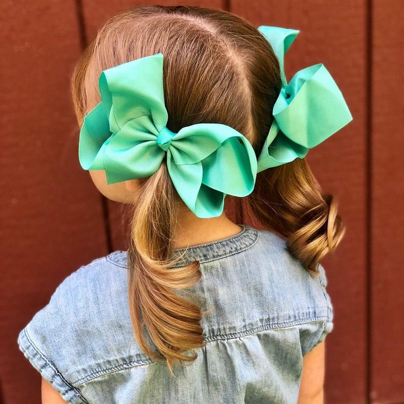 grosgrain hair bows
