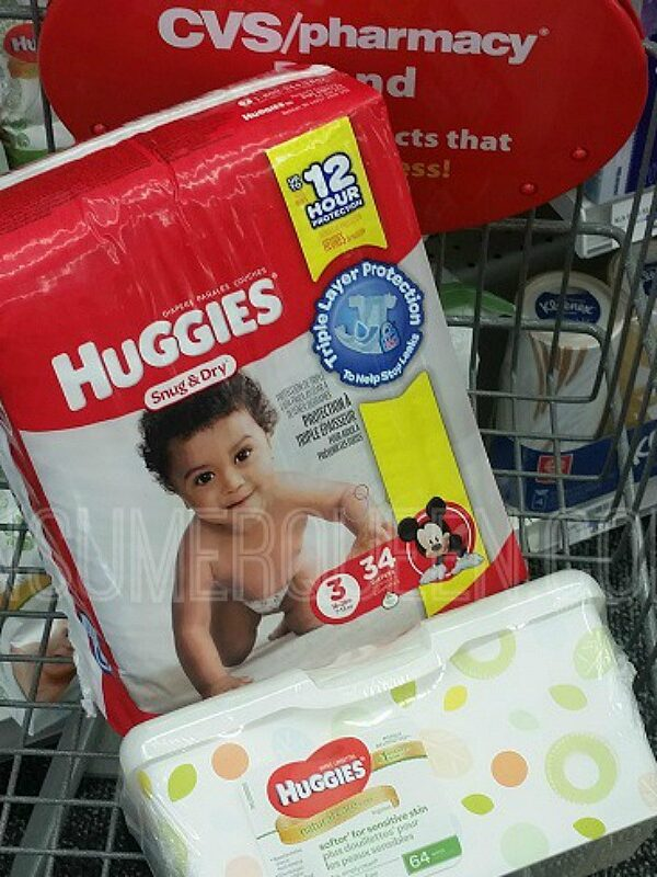 huggies baby wipes and huggies jumbo diapers at cvs