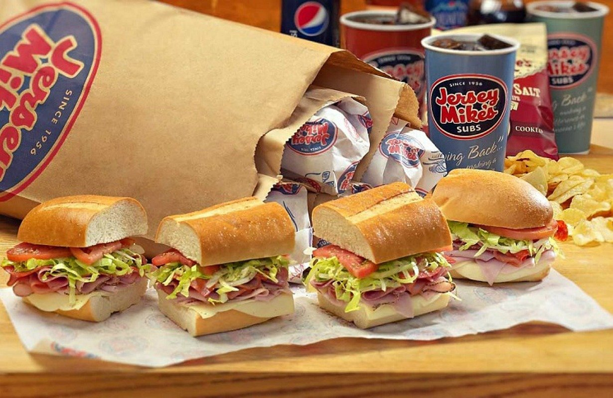 This is a graphic of Trust Jersey Mikes Printable Coupons