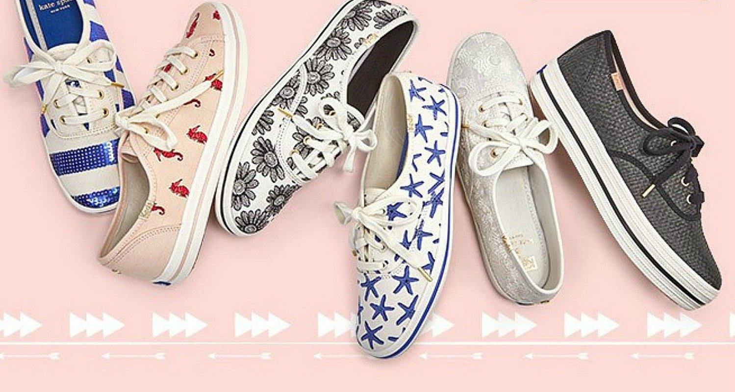 Keds Shoe Sale + 20% Off = Kate Spade as Low as $23.96 (Reg. $75) – Ships FREE! *EXPIRED*