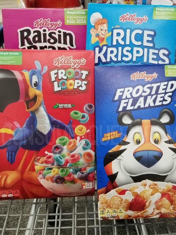 kelloggs cereal