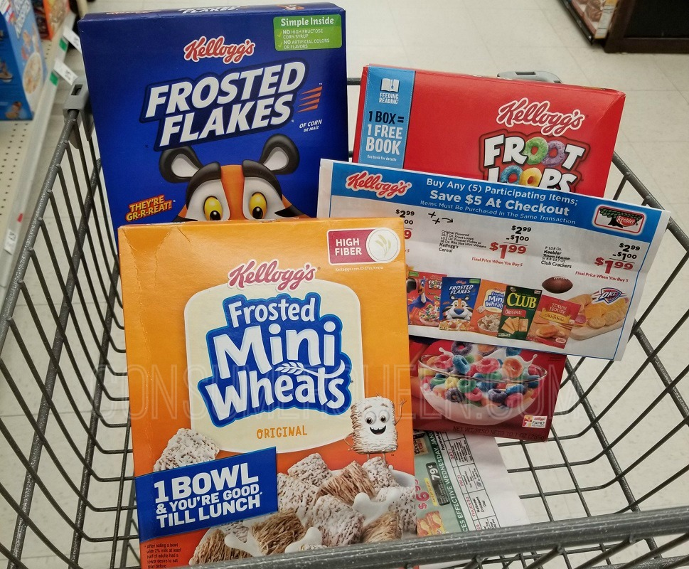Kellogg's Cereal Sale at Homeland 1/29 – ONLY $1.39 (Print Coupon Now)