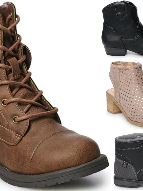 Kid's Boots 50% Off at Kohl's – Prices Start at $22.45 (Reg. $45!)