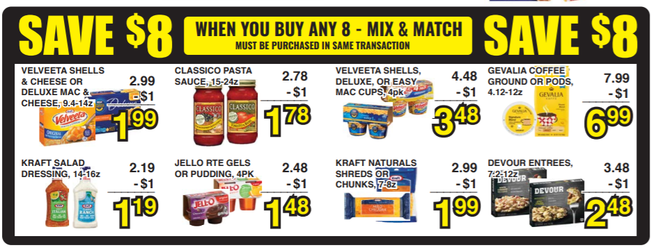kraft deal uptown grocery