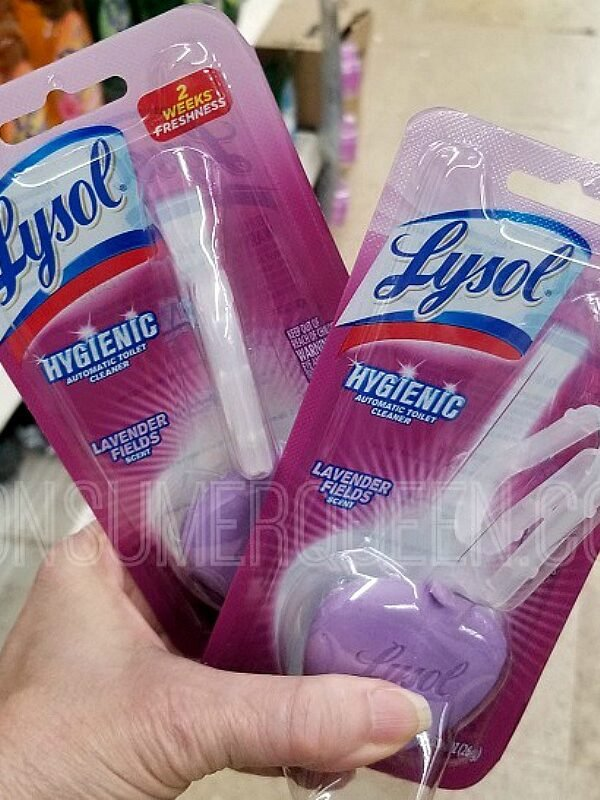 lysol automatic toilet bowl cleaner at dollar tree