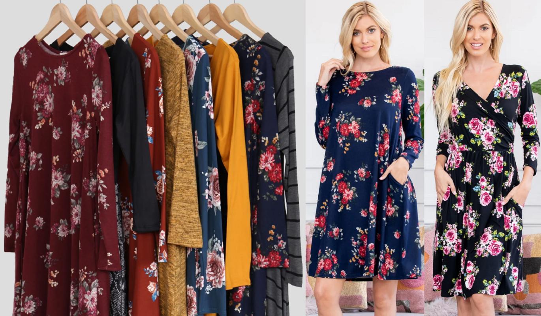 Winter Midi Dresses ONLY $11.98 Shipped (Reg. $30) *EXPIRED*