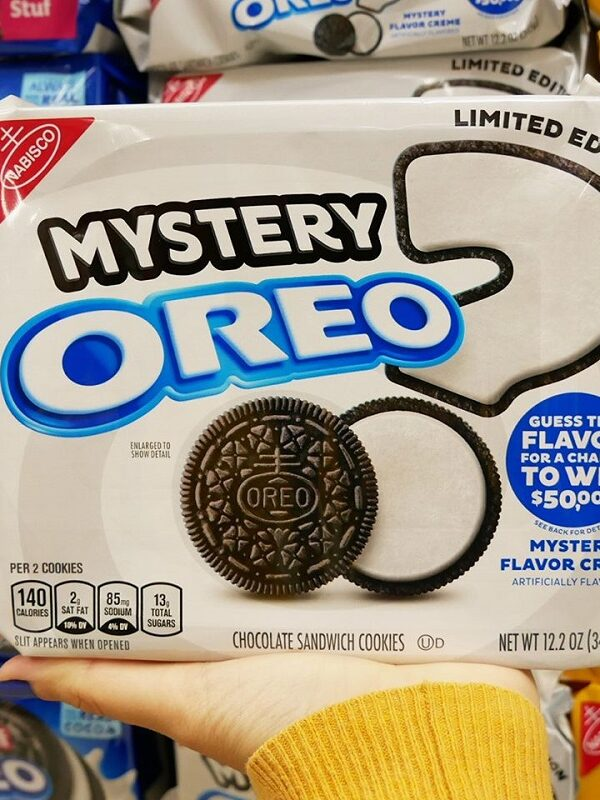 oreo mystery flavored cookies