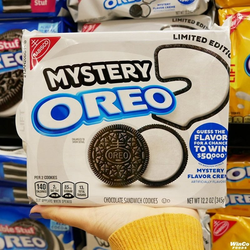Oreo Mystery Flavor Cookies Free At Walmart After Cash Back