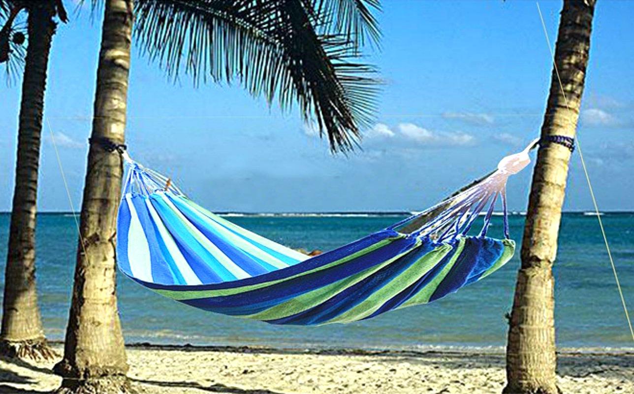 outdoor cotton hammock at walmart