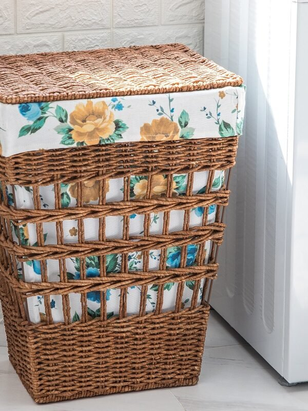 pioneer woman laundry hamper