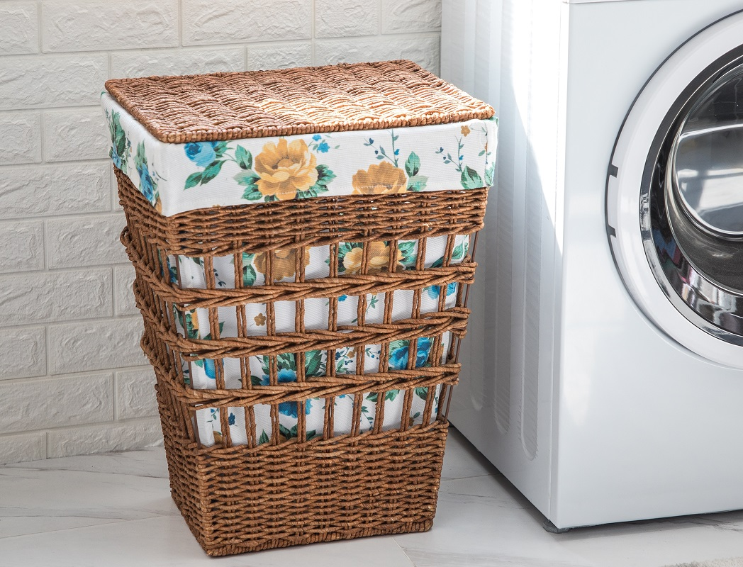 The Pioneer Woman Laundry Hamper ONLY $21.86 (Reg. $43.73)