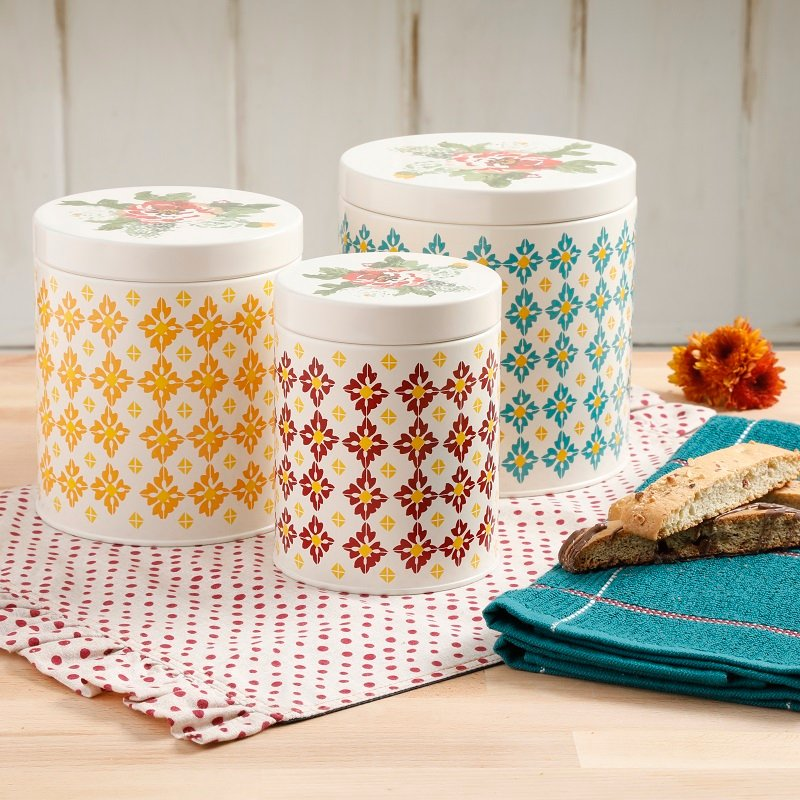 The Pioneer Woman Vintage Canister Set JUST $9.49 at Walmart (Reg. $28.79!)