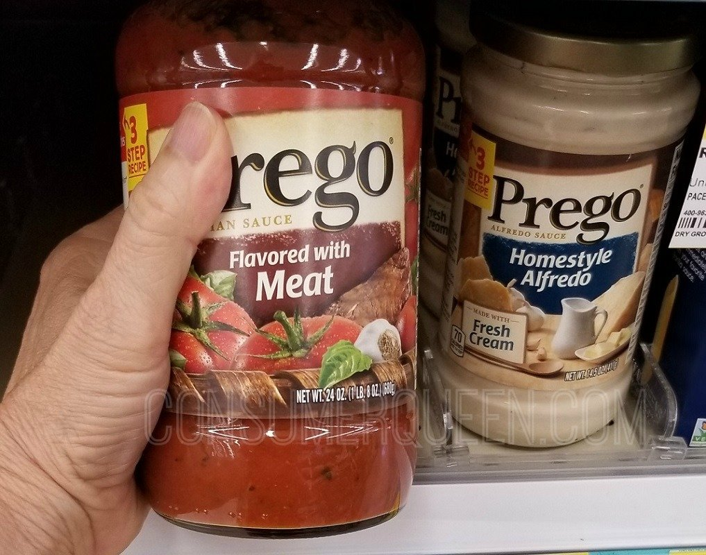 Prego Spaghetti Sauce as Low as 23¢ at  WinCo (Text Offer) After Cash Back.