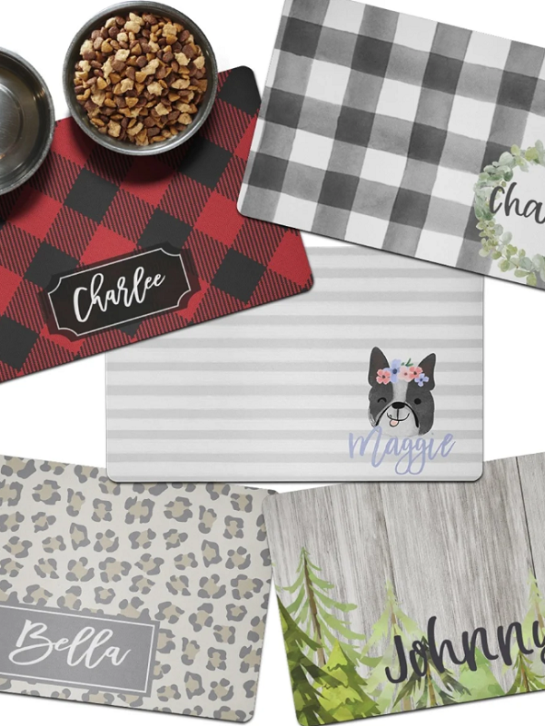 Printed Pet Mats ONLY $12.99 + Free Shipping (Reg. $28)