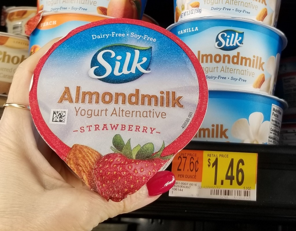Silk Almondmilk Yogurt ONLY 61¢ at Walmart After Cash Back (Reg. $1.46)