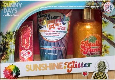 Sunshine & Glitter Sunny Days Gift Set